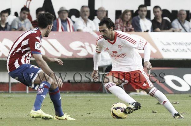 Sporting de Gijón - Osasuna: puntuaciones Osasuna, jornada 10
