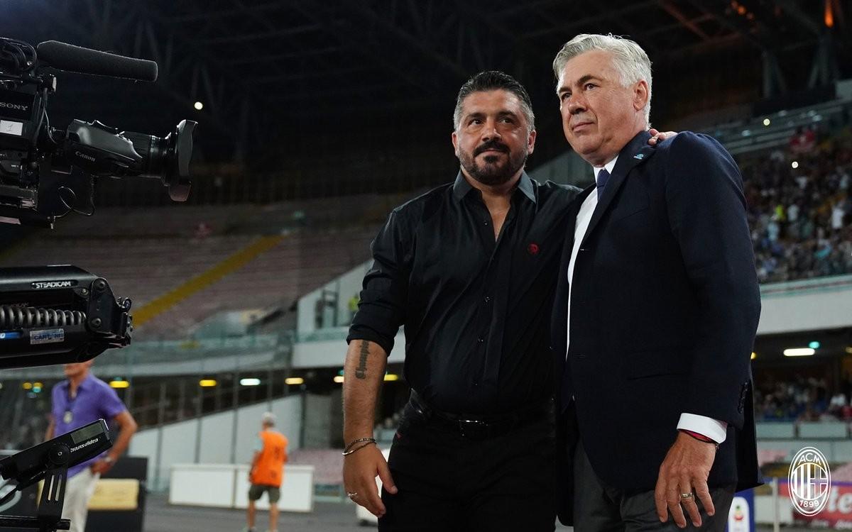 """Milan, dal sogno all'incubo. Gattuso: """"Dopo il primo gol del Napoli siamo scomparsi"""""""