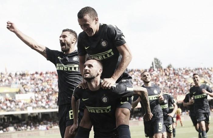 L'Inter vince ma non convince: a Benevento decide la doppietta di Brozovic (1-2)