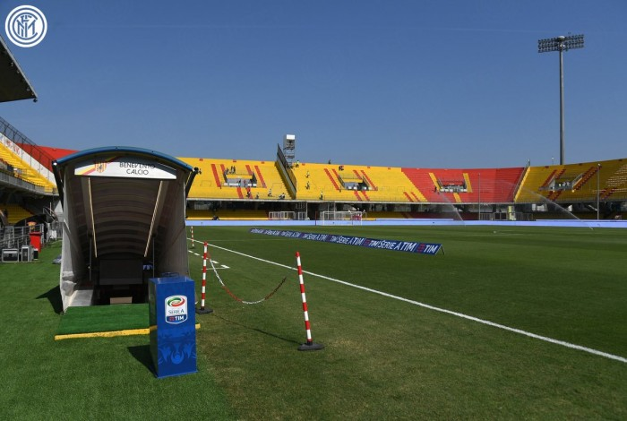 Le formazioni ufficiali di Benevento - Inter