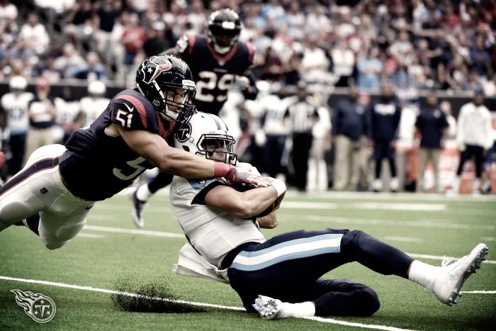 Los Texans se llevan un partido ante unos Titans descompuestos