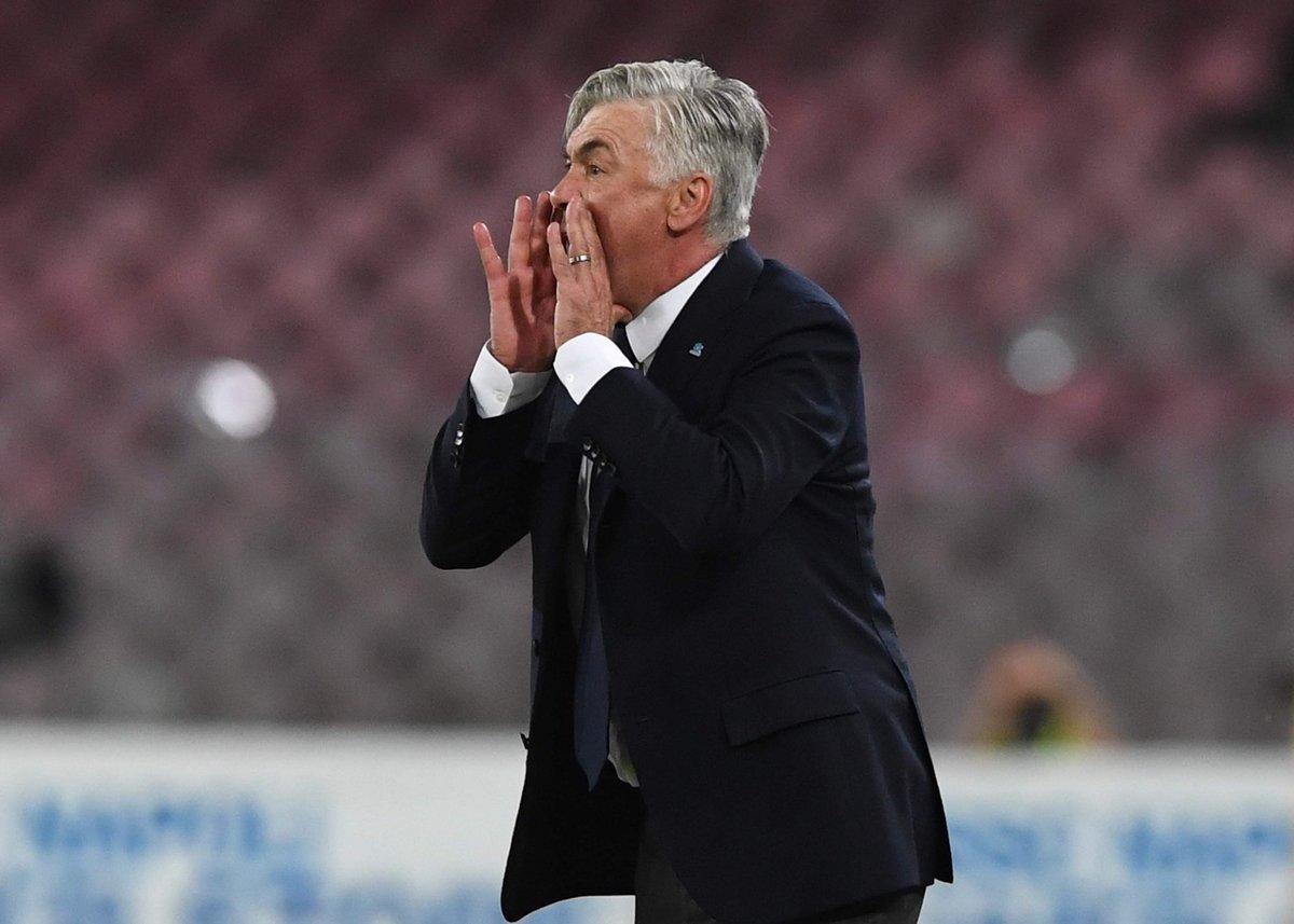 """Napoli, vittoria in rimonta. Ancelotti: """"Partita bellissima, anche fortunati"""""""