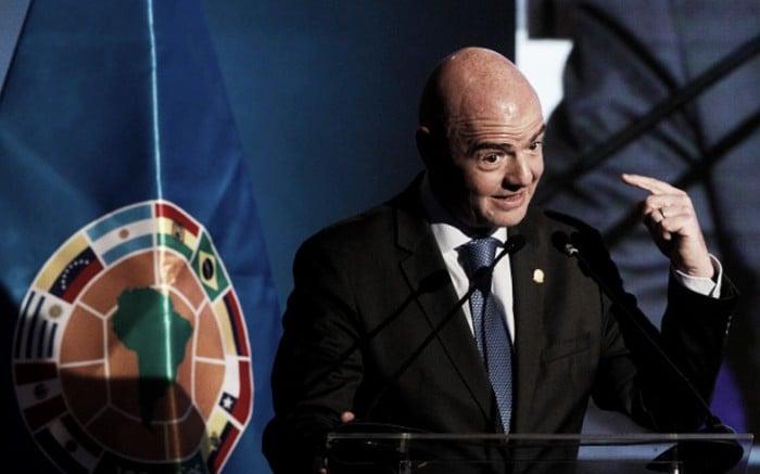 Presidente da Fifa confirma uso do assistente de vídeo para Copa 2018