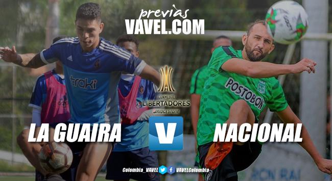 Previa: Deportivo La Guaira vs Atlético Nacional: a todo o nada por la clasificación