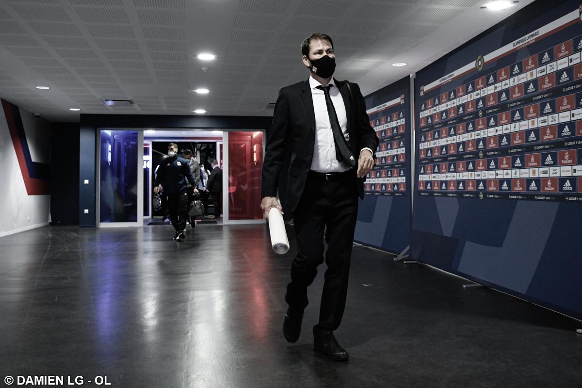 Após saída do Lyon, técnico Rudi Garcia critica Juninho Pernambucano