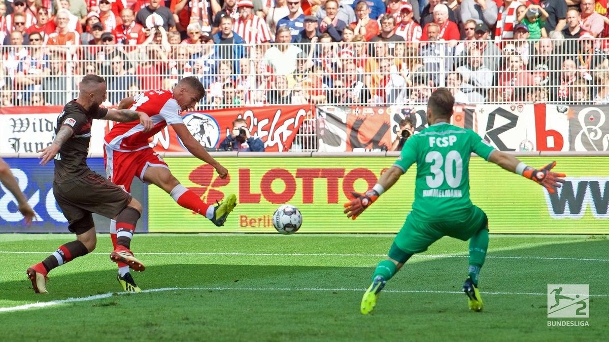 1. FC Union Berlin 4-1 FC St. Pauli: Hosts topple former leaders to stay unbeaten