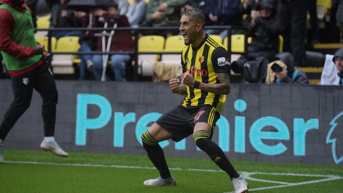 Premier League - Il Watford vola a 9 punti: Pereyra ed Holebas abbattono il Palace (2-1)