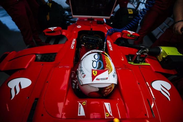 """Vettel se queda justo detrás de los Mercedes: """"Me gustaría ser más rápido"""""""