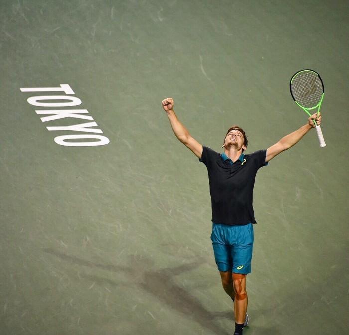 ATP Tokyo - Conferma Goffin, sorpresa Mannarino