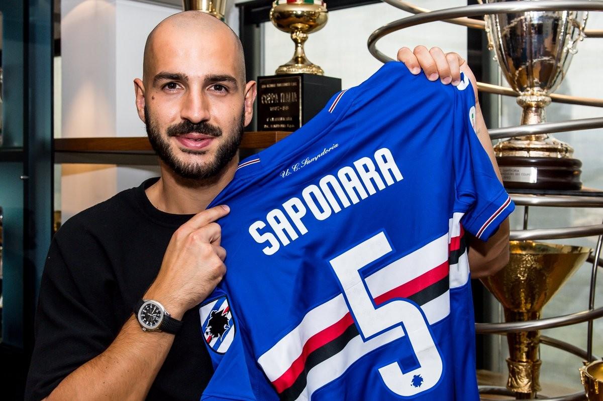 """Sampdoria, Saponara si presenta: """"Ho voglia di rivincita, c'è un bel rapporto con Giampaolo"""""""