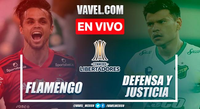 Resumen y goles: Flamengo 4-1 Defensa y Justicia en Octavos de Final de la Copa Libertadores 2021