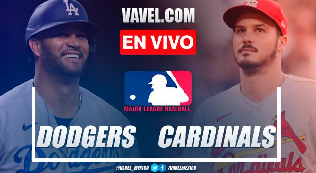 Resumen y carreras: los Ángeles Dodgers 1-2 St. Louis Cardinals por MLB 2021