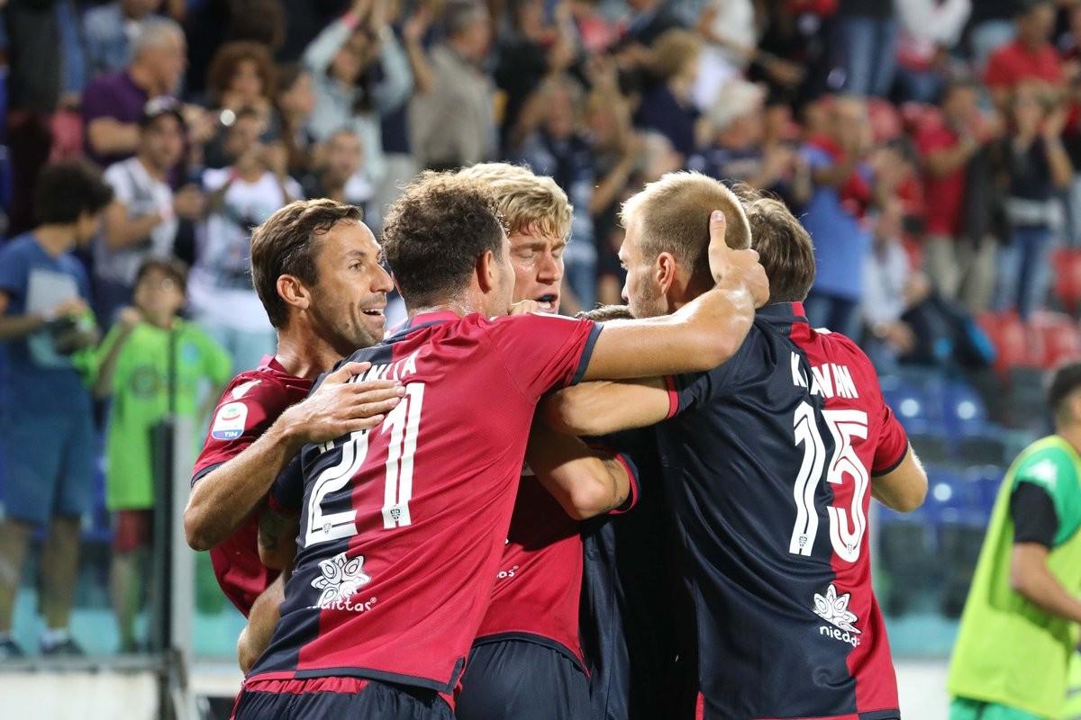 Serie A - Boateng nel recupero salva il Sassuolo, parità a Cagliari (2-2)