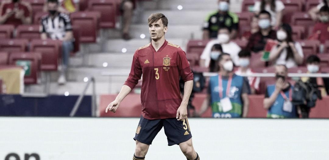 Diego Llorente, nuevo positivo confirmado en COVID-19