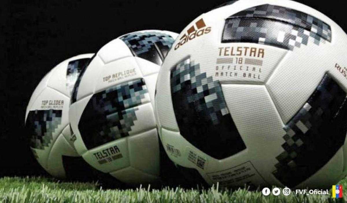 Liga FutVe jugará su sexta jornada con balones Adidas TELSTAR