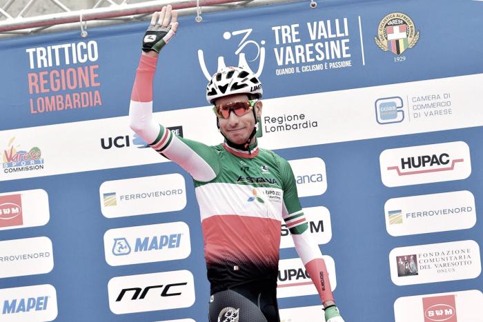 """Fabio Aru: """"Intentaré asegurarme de que el maillot italiano suba al podio en el Mundial de Innsbruck"""""""