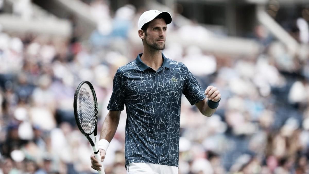 Novak Djokovic se estrenó con un triunfo