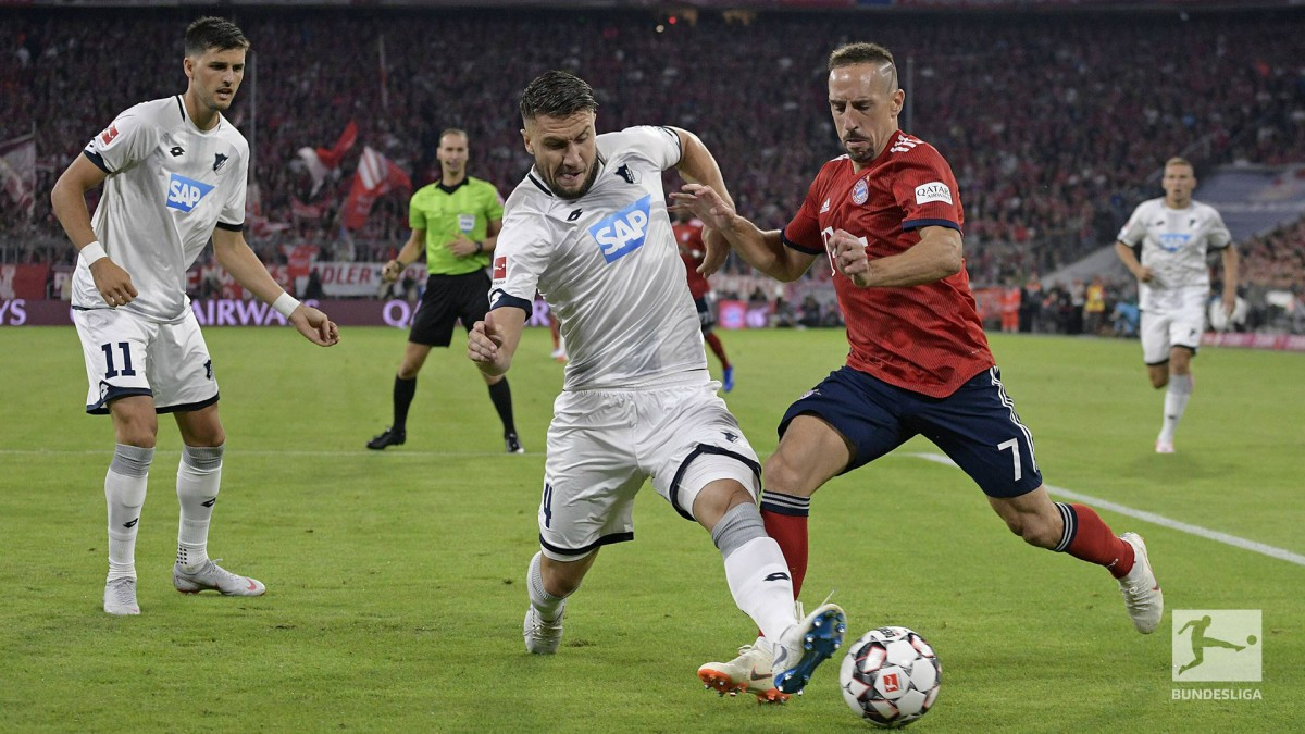 Bundesliga - Tris al debutto per il Bayern: l'Hoffenheim cade sotto i colpi di Muller, Lewa e Robben (3-1)
