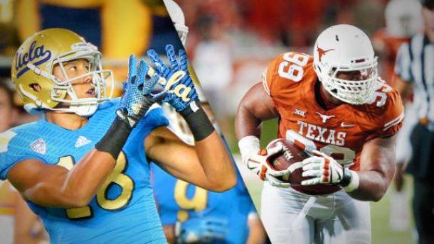 Ucla Bruins Texas Longhorns Live Of 2014 College Football Vavel Com