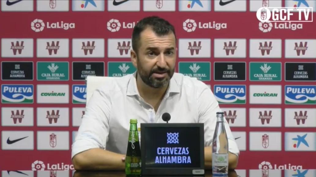 """Diego Martínez: """"Hay que felicitar al equipo por el esfuerzo del día a día"""""""