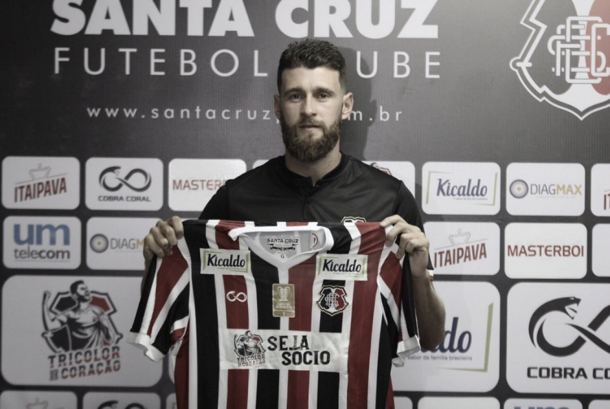 """Danny Morais retorna ao Santa Cruz e destaca identificação com o clube:""""É um prazer estar de volta"""""""