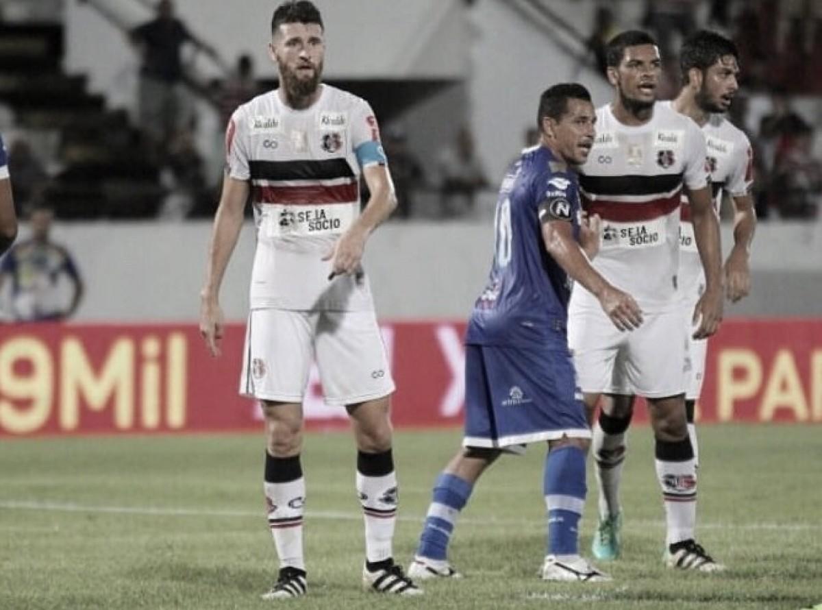 Na expectativa pelo novo treinador, Danny Morais espera apoio da torcida contra Atlético-AC
