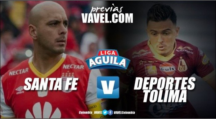 Previa Santa Fe vs Deportes Tolima: el partido para sumar y quedar al día