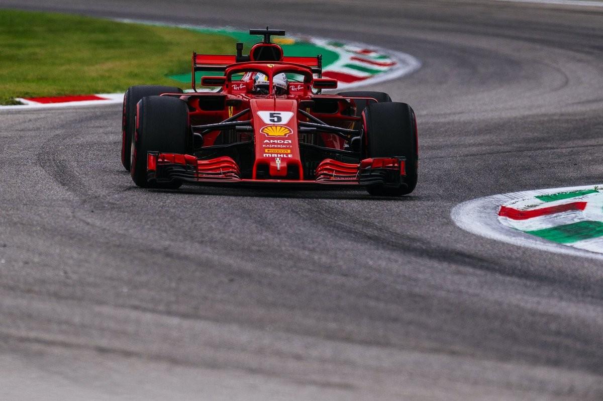 Formula 1 - Gran Premio d'Italia: Vettel in testa nelle libere 3