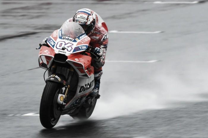 MotoGP, Motegi - Le Ducati in spolvero: Dovizioso ottimista, Lorenzo sollevato dopo il botto