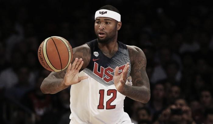 Em meios a desfalques, Estados Unidos confirmam DeMarcus Cousins como pivô para Olimpíada