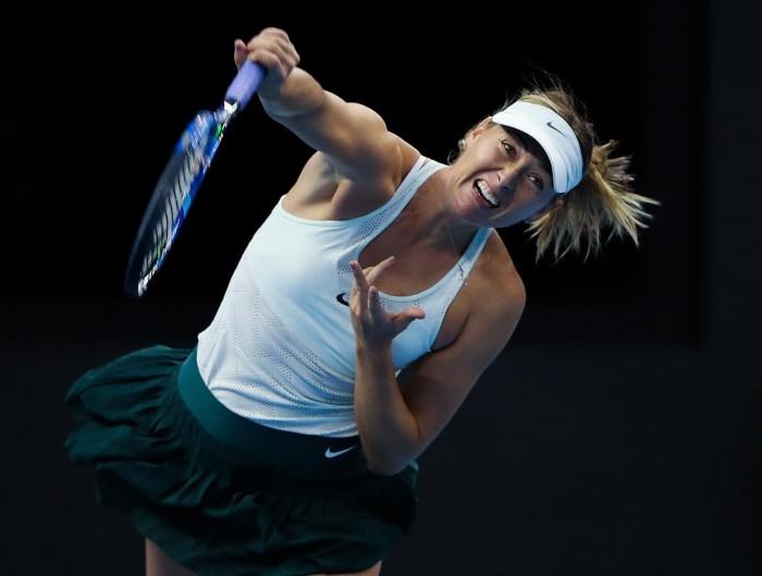 WTA Tianjin - Sharapova in finale, si ferma la Errani