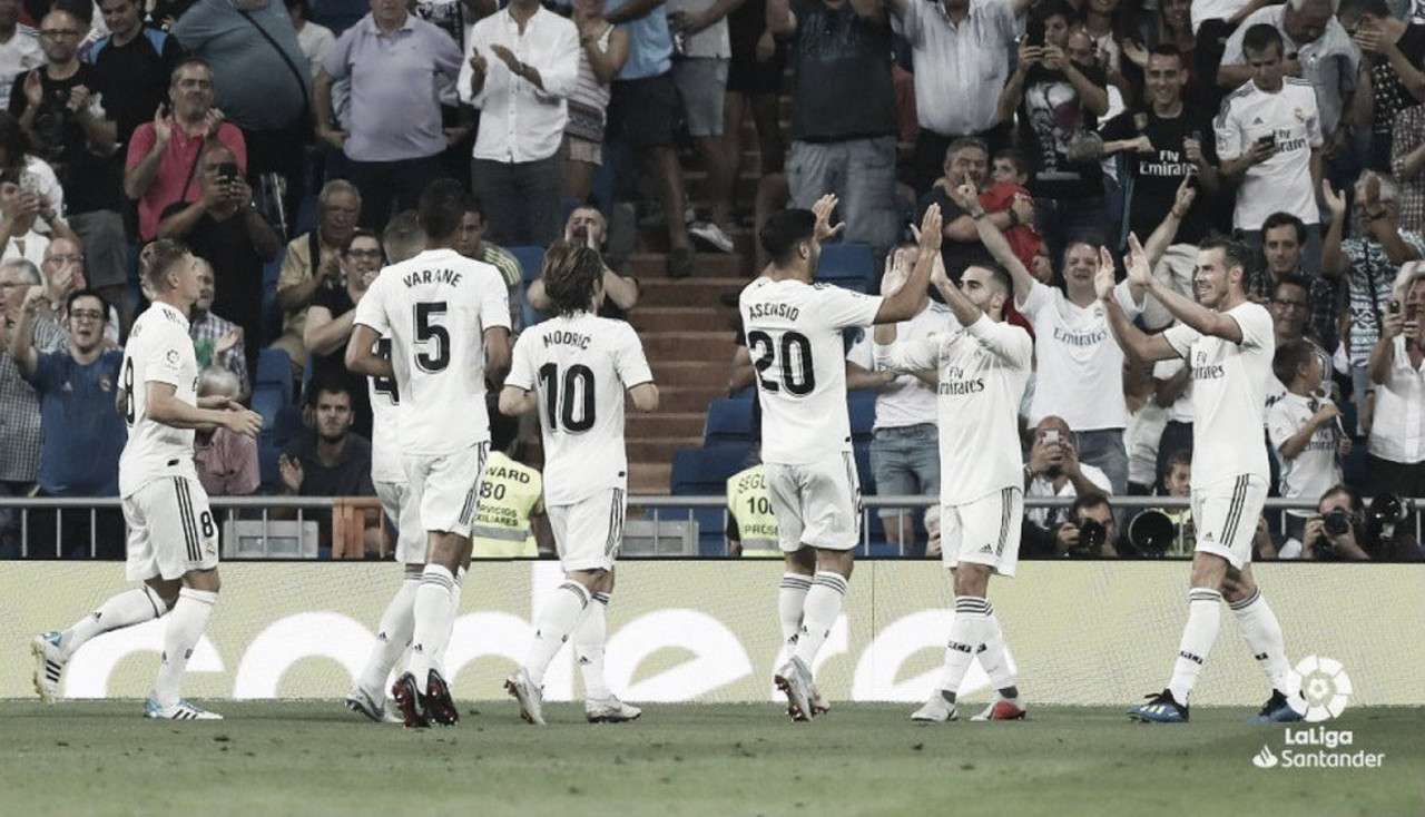 Resumen del Real Madrid vs Rayo Vallecano (1-0) La Liga 2018