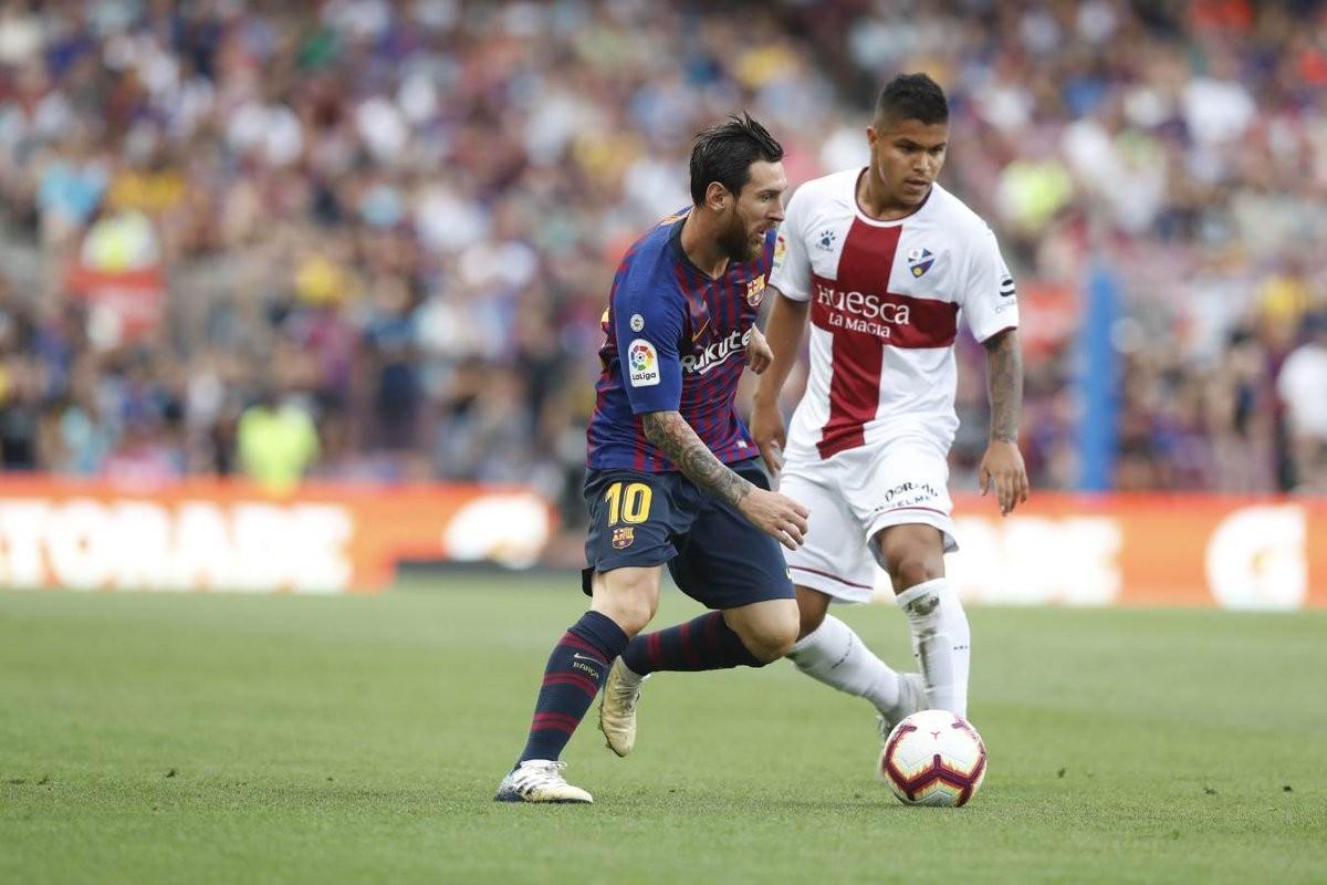 Liga Spagnola- Il Barcellona umilia e strapazza il neopromosso Huesca