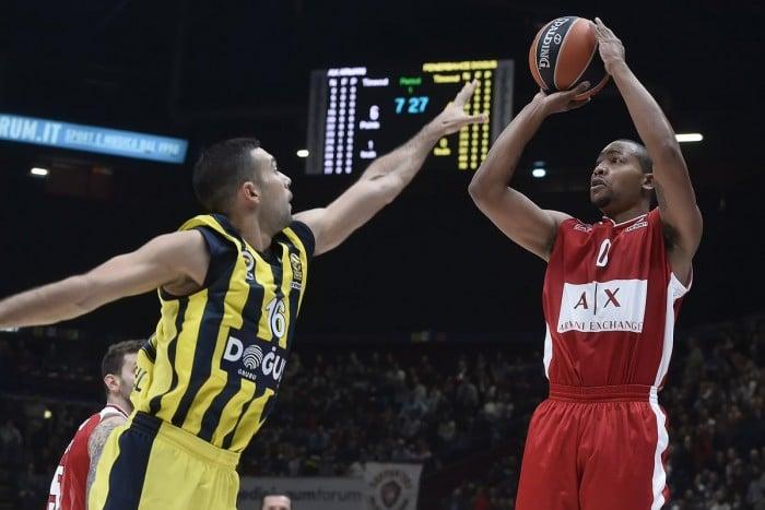 Milano spaventa il Fenerbahçe di Melli ma si arrende all'overtime