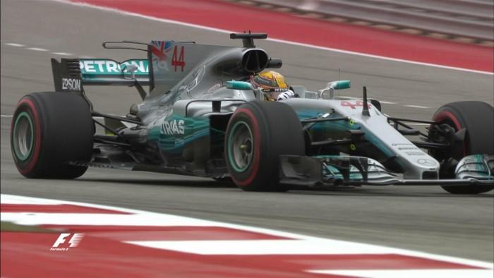 Formula 1, ad Austin Hamilton il più veloce nelle libere. Vettel insegue
