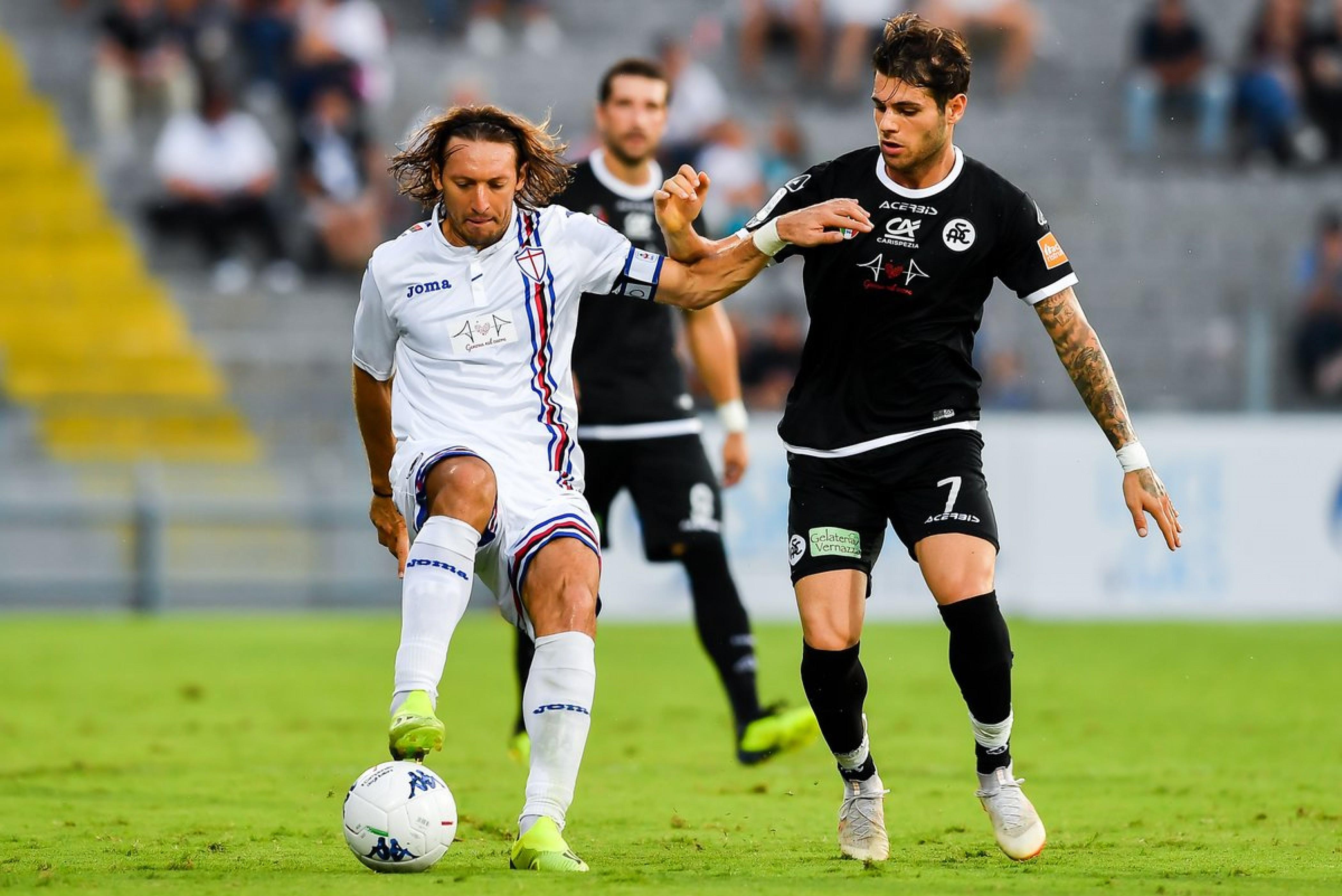 Sampdoria: poche luci e molte ombre nel match contro lo Spezia