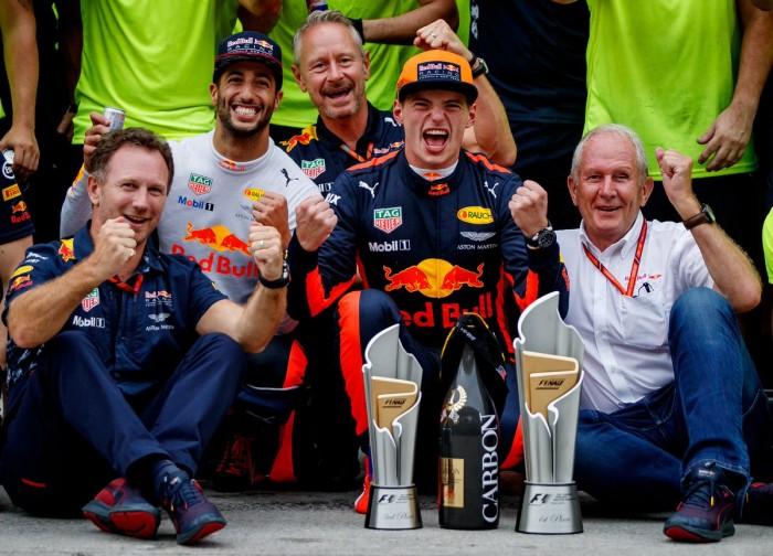 UFFICIALE - Verstappen prolunga con Red Bull fino al 2020