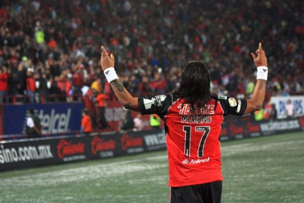 Dayro Moreno regresa a Tijuana