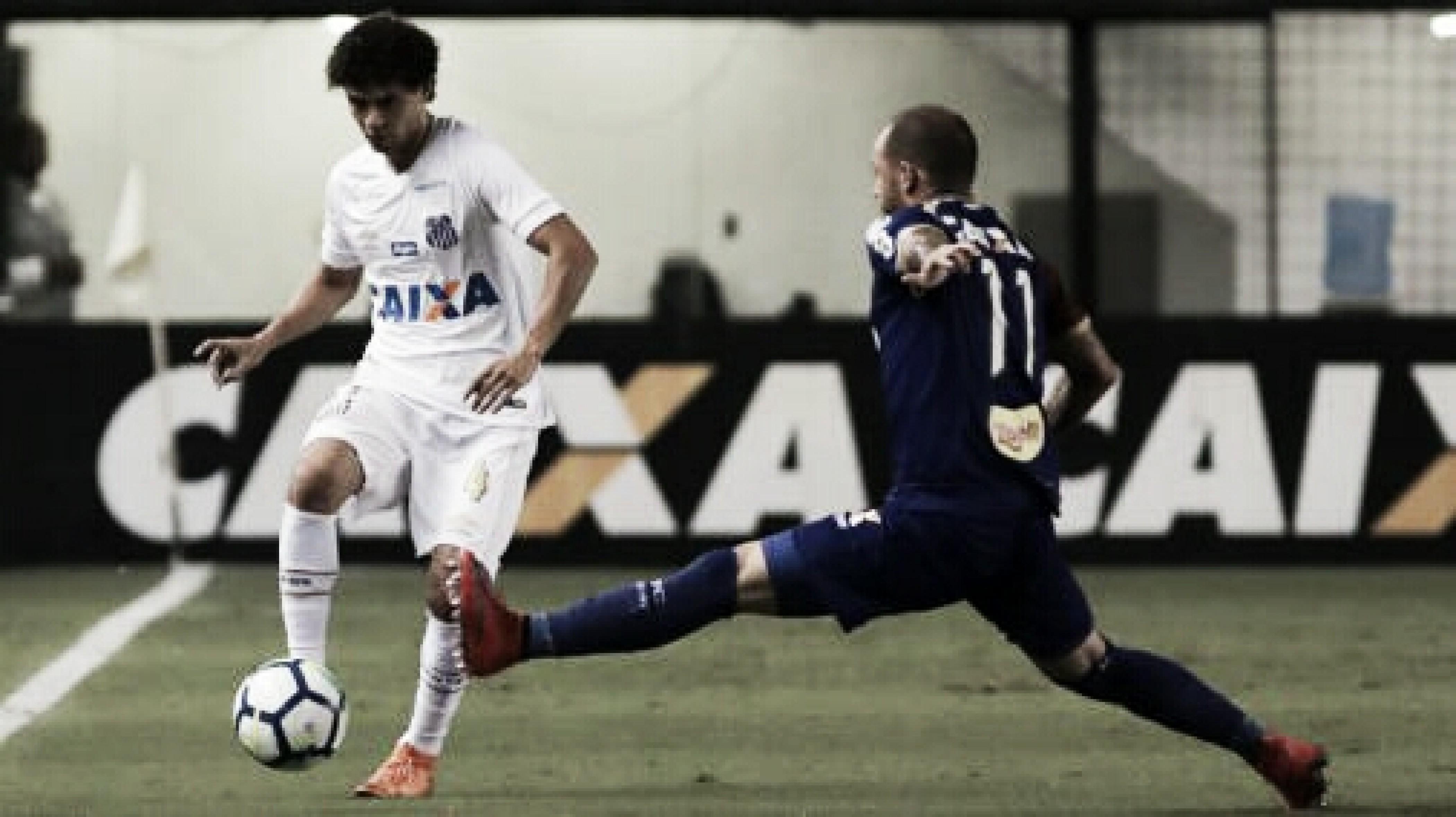 Paraná recebe o Santos em busca de recuperação no Campeonato Brasileiro