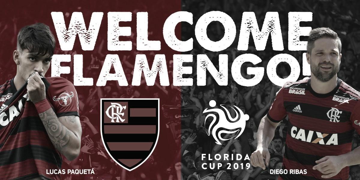 Flamengo aceita convite e participará da Flórida Cup em 2019