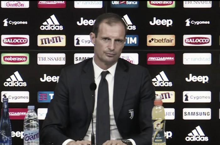 """Juventus, Allegri verso Udine: """"Momento delicato, dobbiamo fare punti. Dybala gioca"""""""