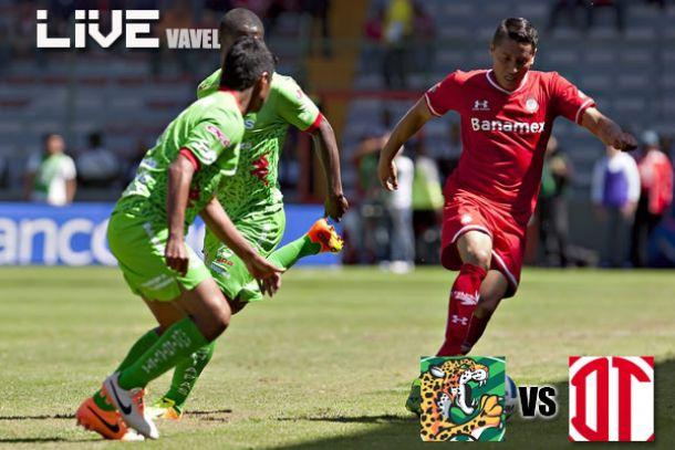 Resultado Chiapas - Toluca en Liga MX 2014 (2-1)