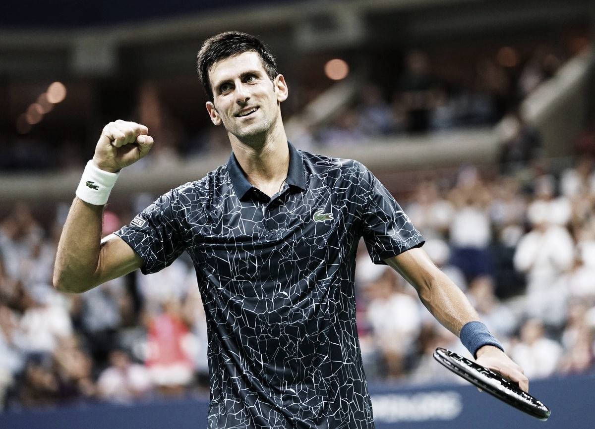 Djokovic cumplió con el trámite y se clasificó a las semifinales