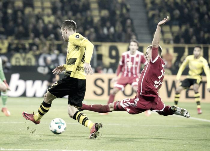 El Bayern 'noquea' al Dortmund y se pone líder en solitario