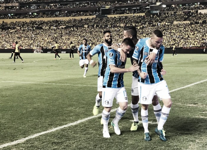 Resumen Barcelona SC 0-3 Grêmio en Copa Libertadores 2017