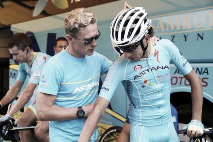 Ciclismo, Vinokourov ha il dente avvelenato: causa ad Aru