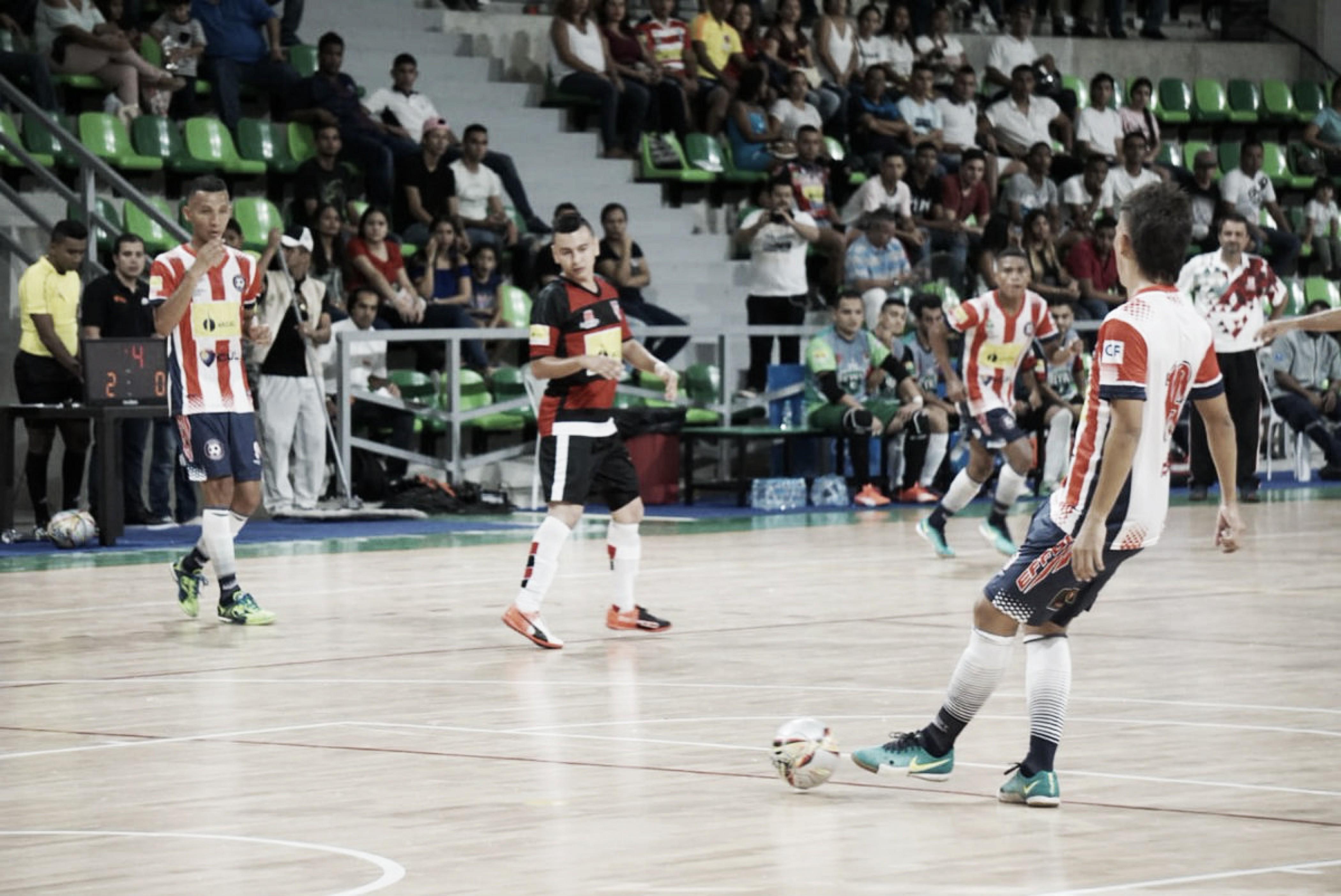 Llega la sexta fecha de la Liga Argos Futsal 2018-II