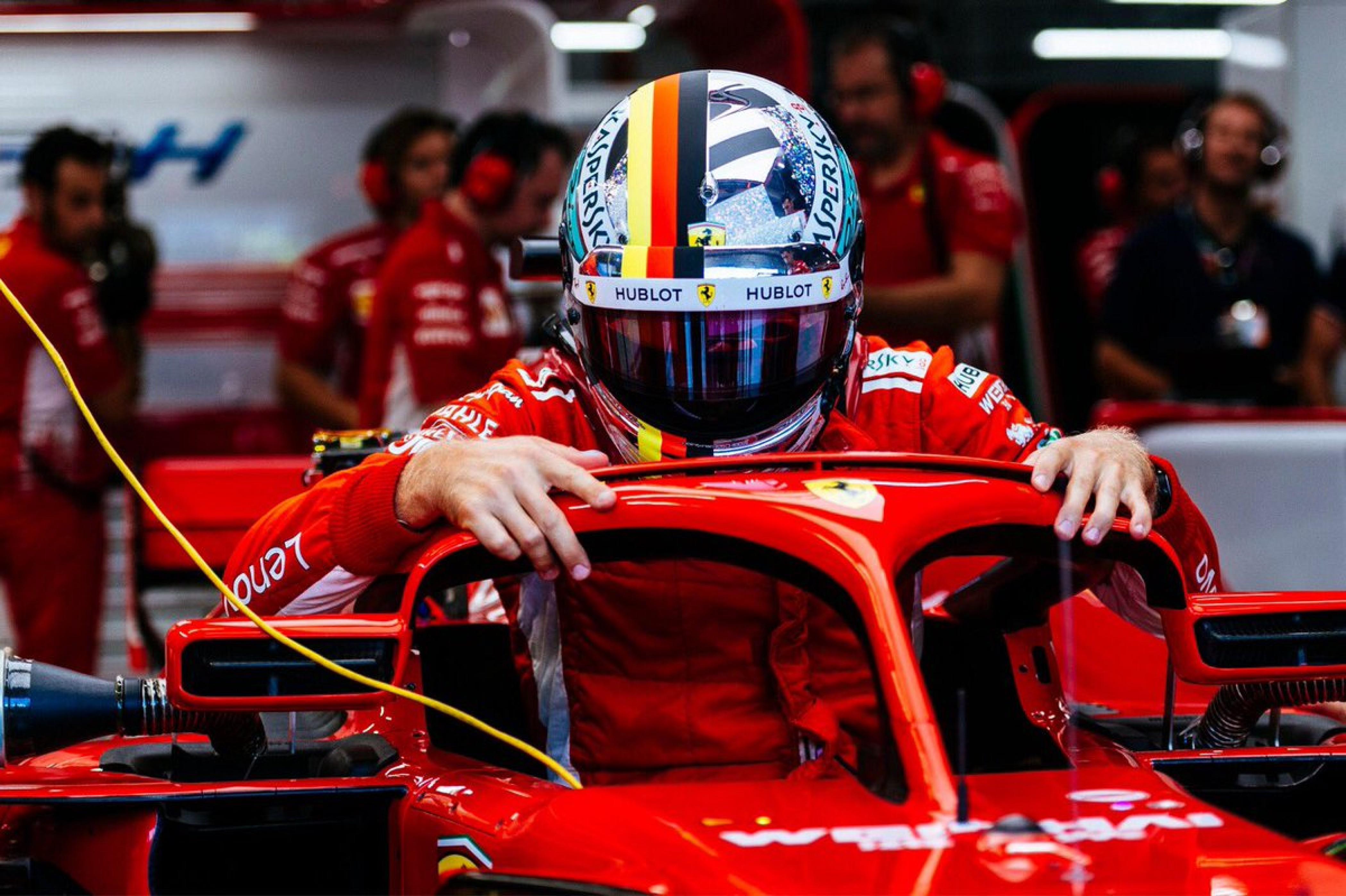 Formula 1 - Gran Premio di Singapore: Ferrari in testa nelle libere 3