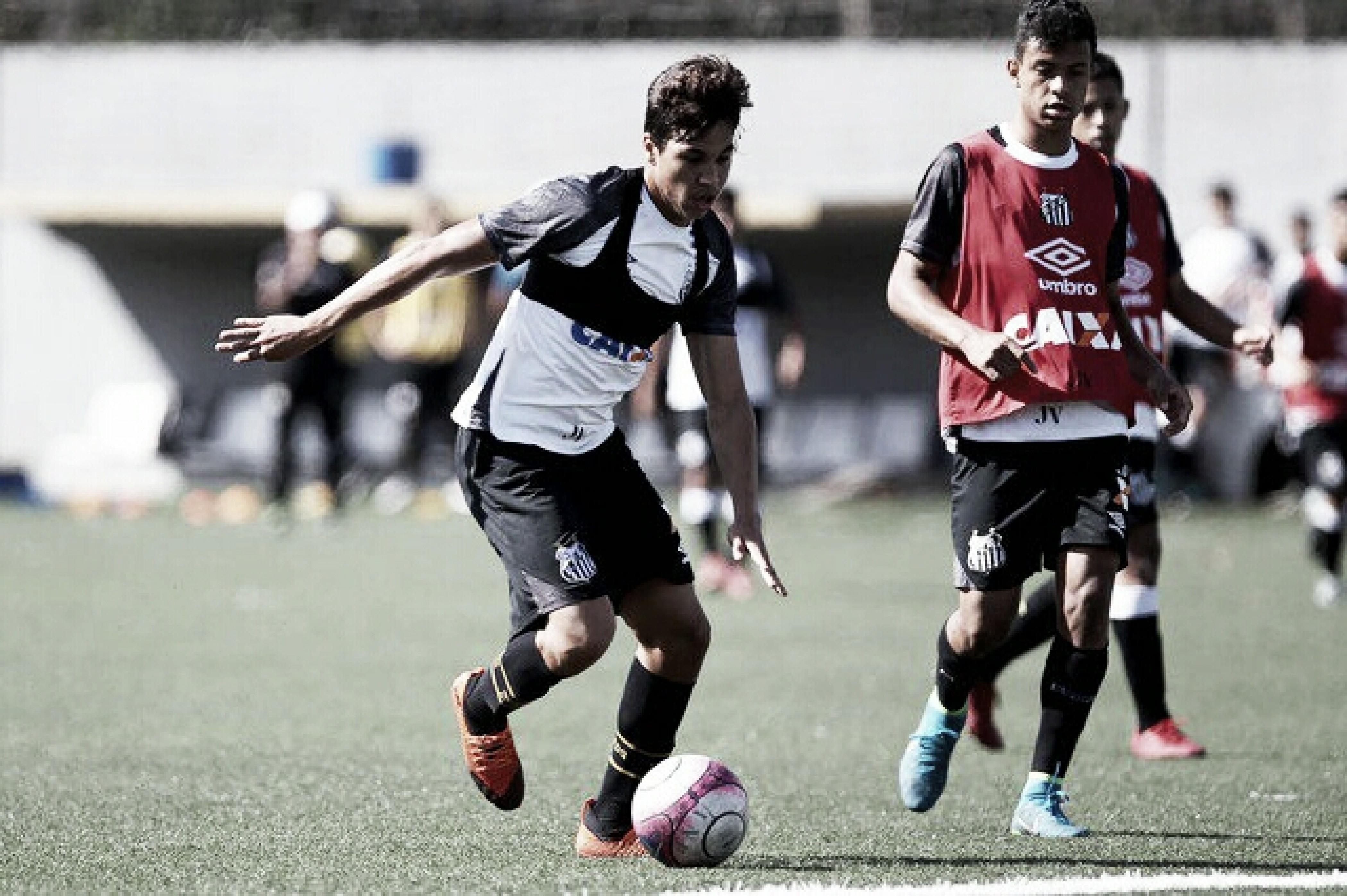 Cuca confirma promoção de Kaio Jorge aos profissionais do Santos e promete chance no Brasileirão