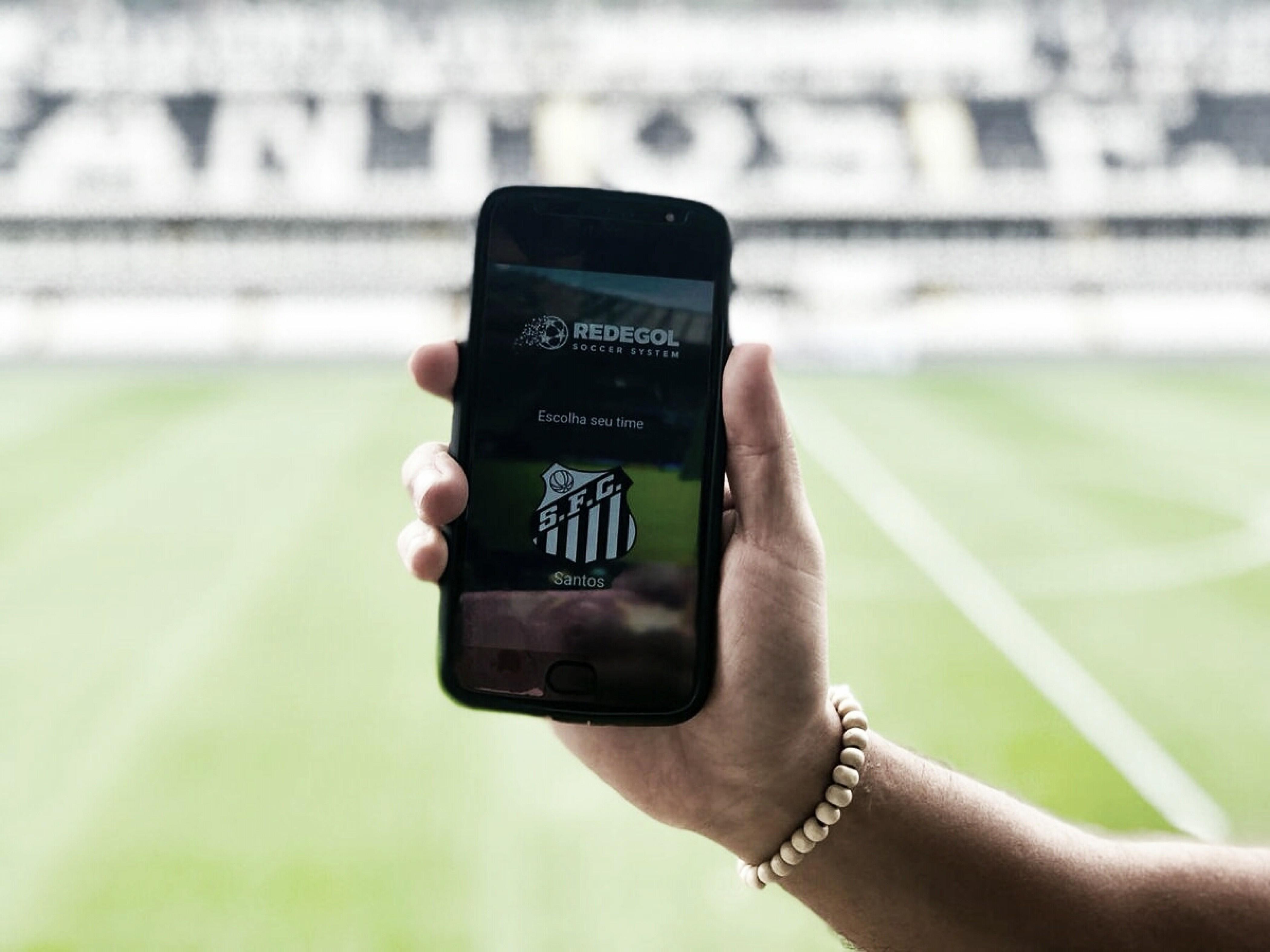 Santos lança aplicativo da Redegol para compra de ingresso
